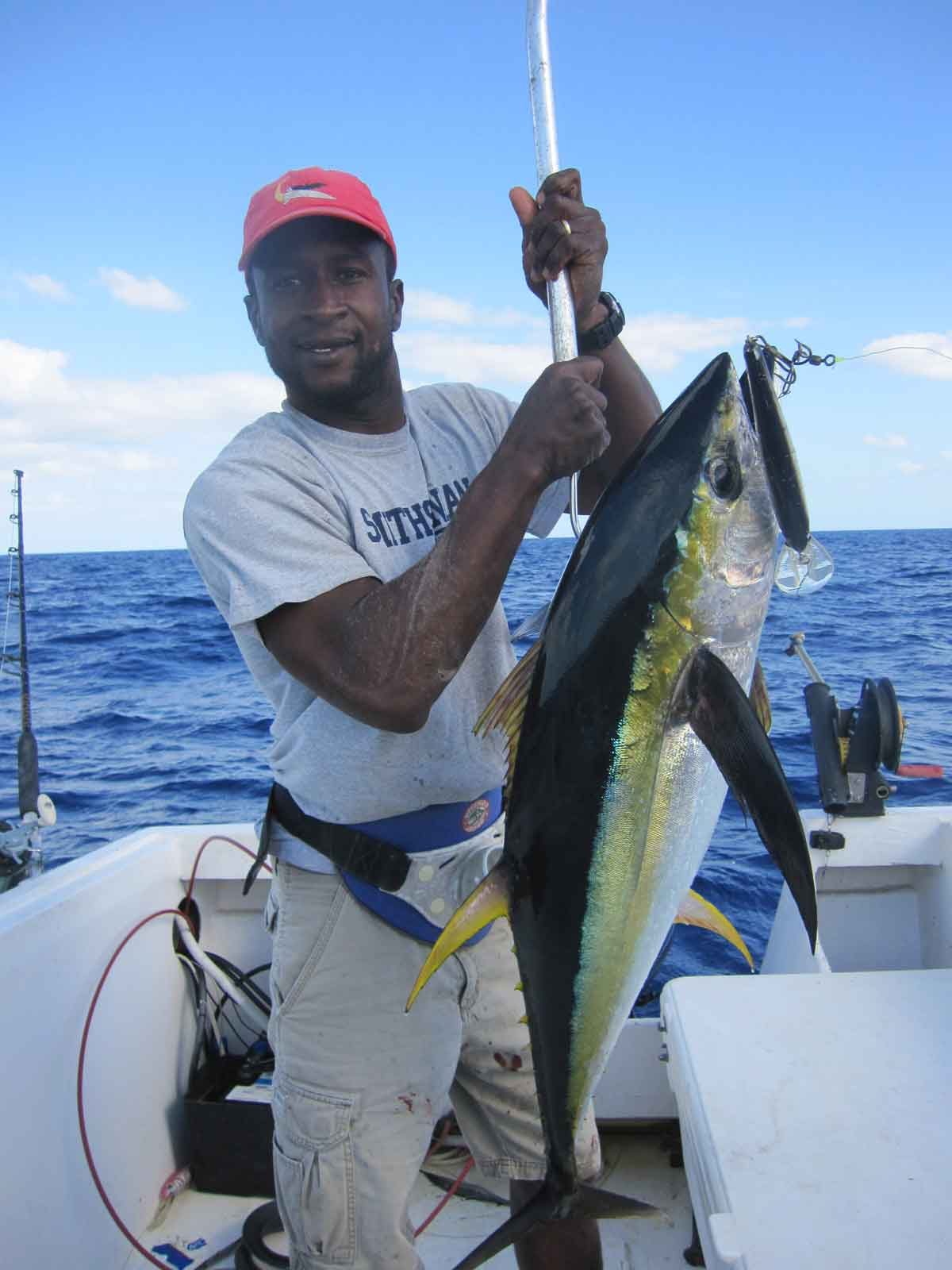 deep sea fishing Long Island Bahamas