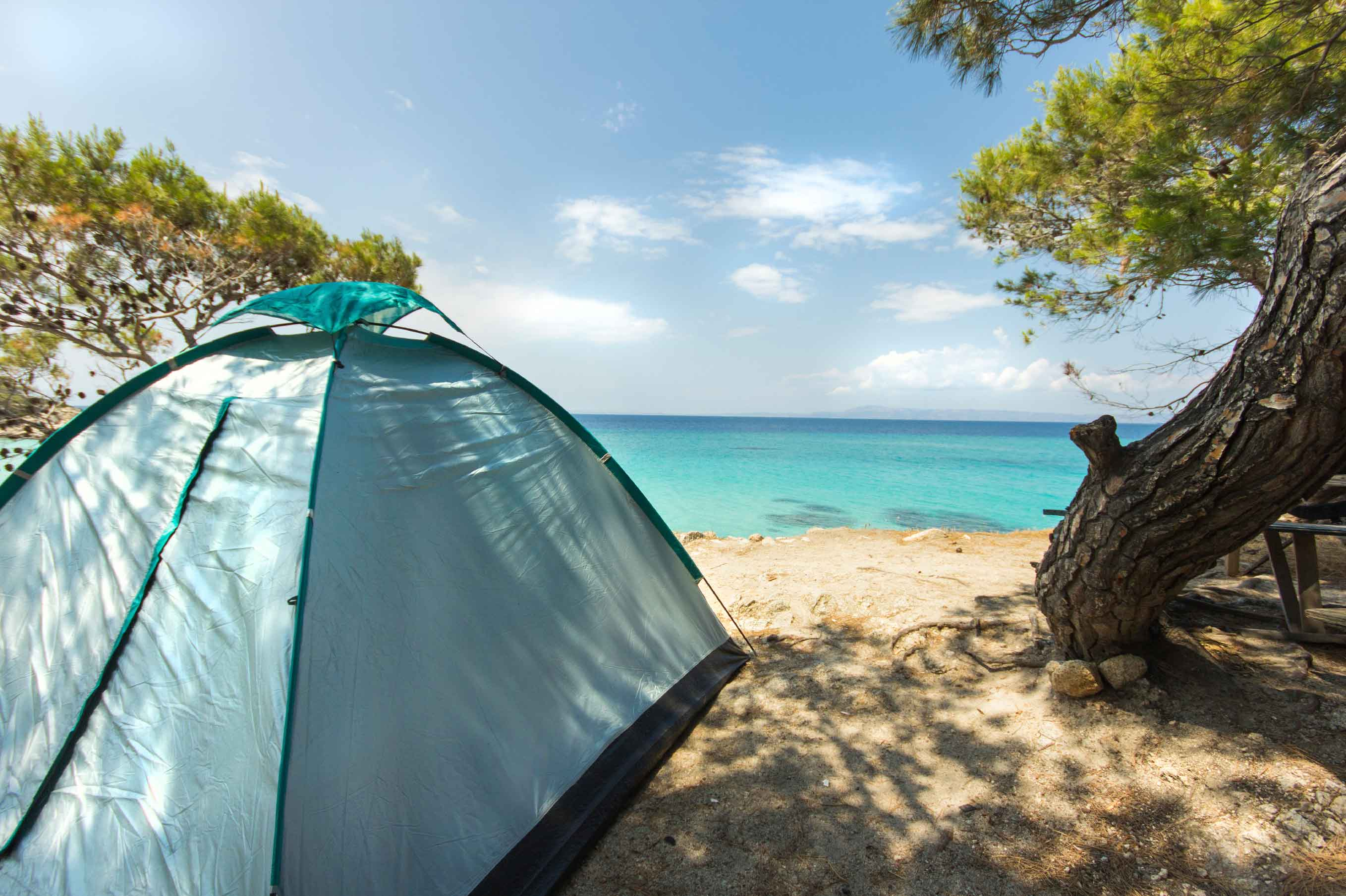 Camping in Long Island Bahamas